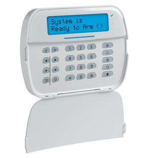Full Message LCD Keypad with Prox Tag Support