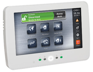 7 Inch Hardwired Touchscreen Keypad with Prox Support