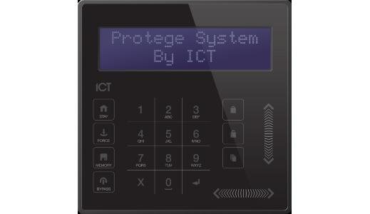 Protégé Touch Sense LCD Keypad