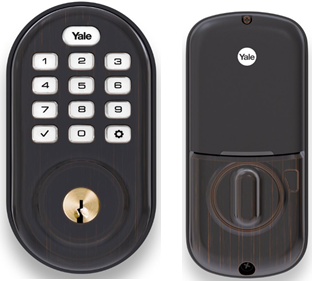 Yale Assure Lock Push Button Keypad with Z-Wave Oil Rubbed Bronze